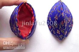 50PCS Wholesale Unique Handcraft Chinese Silk Jewelry Boxes