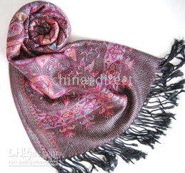 Jacquard Scarf wrap shawl Scarves scarf Shawl 12 PCS LOT #2061