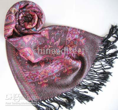 Wholesale Jacquard Scarf wrap shawl Scarves scarf Shawl
