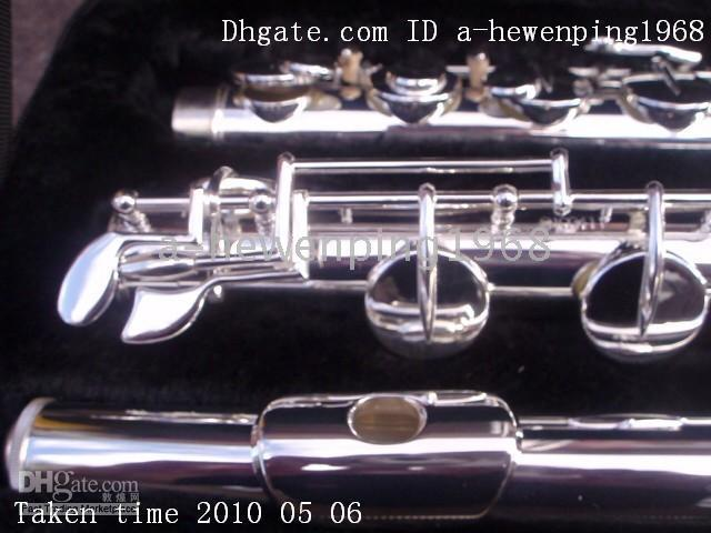 Wholesale Sliver Great bass flute instruments AA