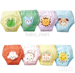 Wholesale HOT layer NISSEN Toddler Baby Training Pants pant Toddler pp diaper pants baby underwear briefs