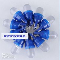 Wholesale 80pcs T10 Wedge V DC Blue color LED Light Bulbs for Auto Car Led Indicator Lamp colors