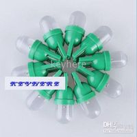 Wholesale 80pcs T10 Wedge V DC green color LED Light Bulbs for Auto Car Led Indicator Lamp colors