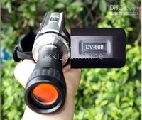 Wholesale Camcorders DV T digital Camera with Telescope Zoom Lens digital camcorder DV DVC in special