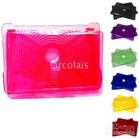 Wholesale 20pcs Crystal Hard Cover Case Shell Skin for Inch New White MacBook Laptop Pink Purple Blue