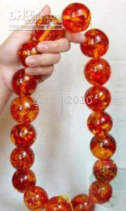 amber prayer - Tibet amber Prayer Beads Necklace