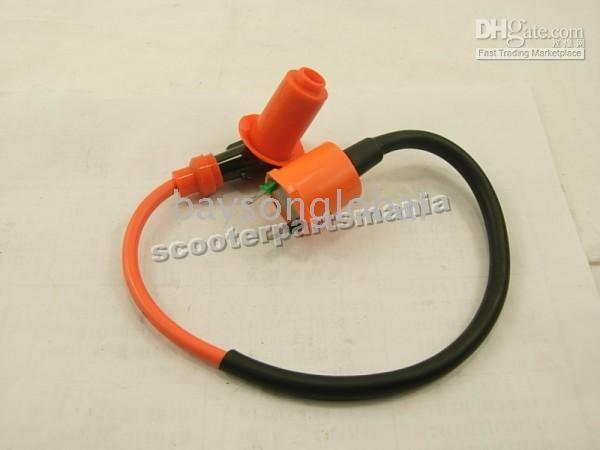 Cheap Free Shipping Gy6 high Performence Ignition Coil 4 Stroke 50cc 125cc 150cc Scooter Parts @70004
