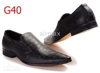Wholesale 2012 Italian Brand Men s Black Dress Shoes Leather Casual Athletic Walking Office Size D51752