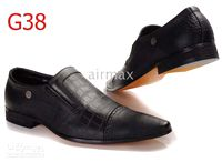 2013 Italian Brand Men's Black Dress Shoes Leather Casual At...