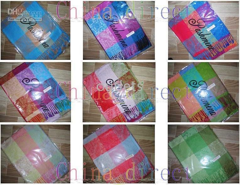 poncho shawl - Cashmere scarf Pashmina wrap shawl Scarves Shawl ponchos wrap
