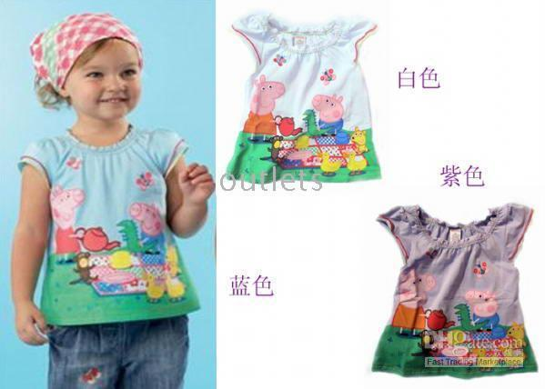 Wholesale New arrival Short sleeve Boys Girls Tops t shirts top shirts shirt T shirt