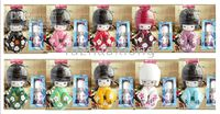 Wholesale Kokeshi Japanese Dolls Puppet Dolls Wooden Handcrafted Doll Multicolor Great Gift