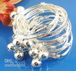 Wholesale sterling silver pc baby bracelet bangle