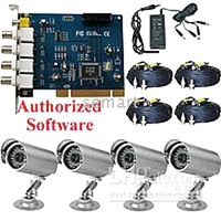 Wholesale CCTV DVR Card IR Outdoor camera home security system