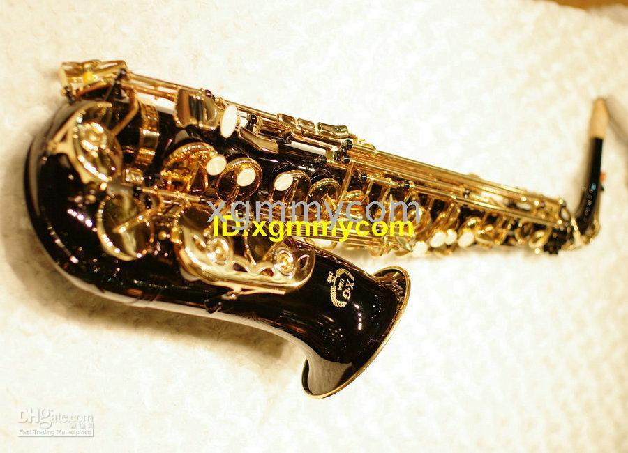 Wholesale New Arrival XG Custom black Alto Saxophone with case High grade