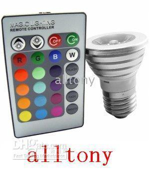 Wholesale New LED Color Changing Light Bulb with Wireless Remote