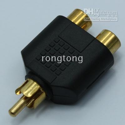 av adaptors - RCA Adaptor Splitter Male to Female Audio AV Plug