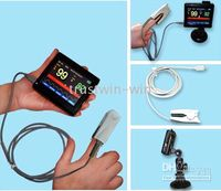 Wholesale Portable Saturimetro Ossimetro color finger hand handheld pulse finger blood oximeter a
