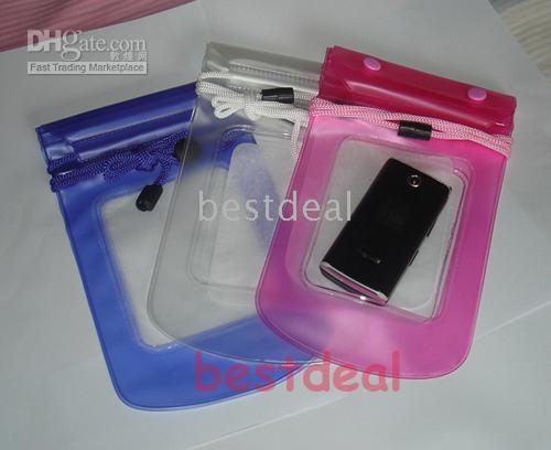Vinyl/PVC beach camera - Waterproof Camera Pouch Dry Case Bag Ski Beach for Camera Mobile Phone Sports new Arrival e3