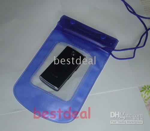Plastic beach camera - Waterproof Camera Pouch Dry Case Bag Ski Beach for Mobile Phone Sports Brand New