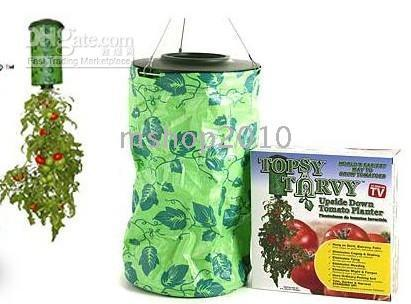 Wholesale 10 Hot Sell New topsy turvy strawberry planter bags