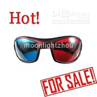 Wholesale 50 Red Blue D Glasses For Video DVD Movie amp Game movies