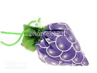 Wholesale 25pcs grape foldable reusable bags reusable shipping bags grocery bag gift bag non woven bag