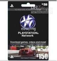Wholesale HOT PSNPlaystation Network Cards For PS3 amp PSP US_PSN prepaid card for hours us