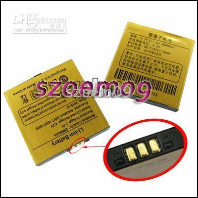 sciphone - 2x New Li ion Battery for Sciphone i9 mAh Smaller free usb data for cect i9 model