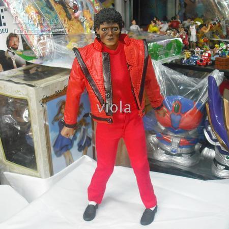 michael jackson - HOT TOYS12 Inch MJ Icon Thriller Michael Jackson Figure