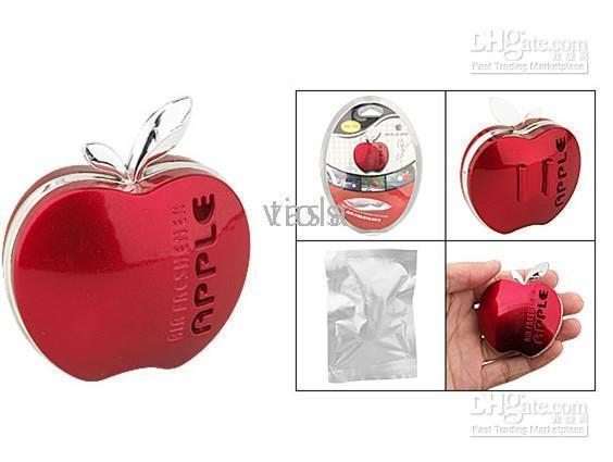 Rojo Amarillo plástico difusor de perfume del ambientador de aire para 50pcs automático de coches