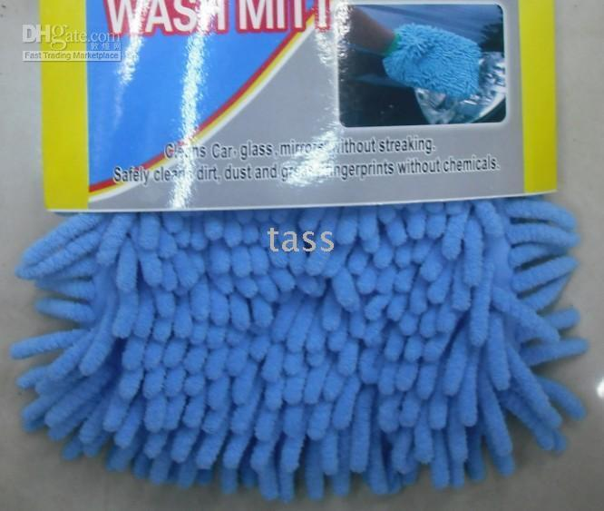 Wholesale Soft Microfiber Car Wash Mitt Glove Cleaner Duster Handy