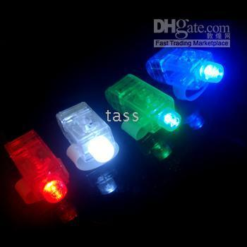 Wholesale Finger Light led finger light laser finger christmas light shipping Fast with Good Quality frees shipping