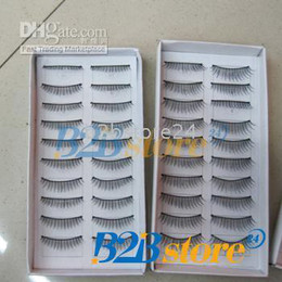 Wholesale 10 Pair Nutural Long False Eyelash Eye Lashes Eyelashes Mixed YA199