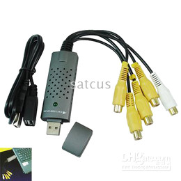 Wholesale Free Drop Shipping EasyCap Channel USB2 CCTV DVR Surveillance System Video Grabber From Satcus