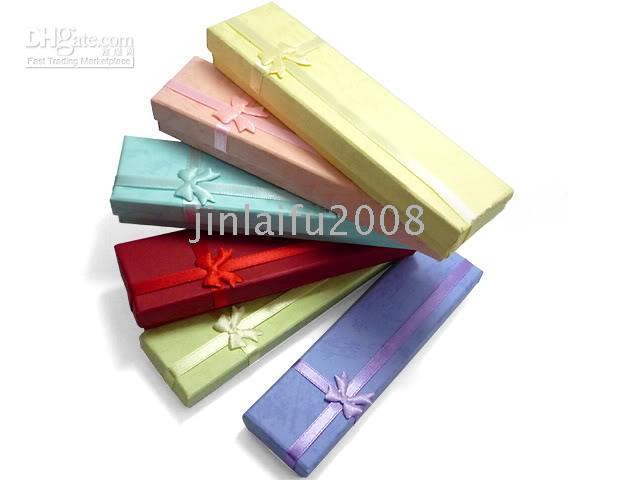 Wholesale 12Pcs Many Color Jewelry Necklace Bracelet Watch Gift Box Case