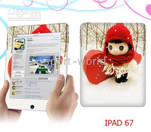 Wholesale Newest iPad Skin Protectors Stickers Vinyl Skin Sticker for ipad mix order