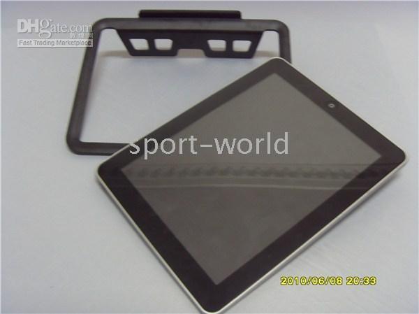 Wholesale 50pcs Black Silver iPad Stand Metal Stand for iPAD New iPad Accessories