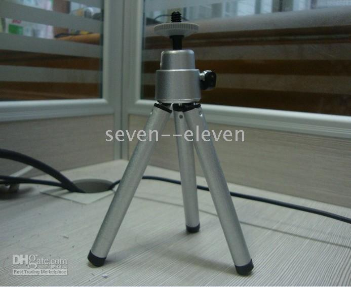 Wholesale Free Fast shipping Mini Stand Tripod for web cam and digital camera