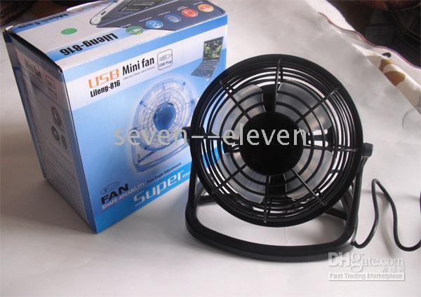 Wholesale Hot USB Mini Electric Fan connect to computer laptop pc