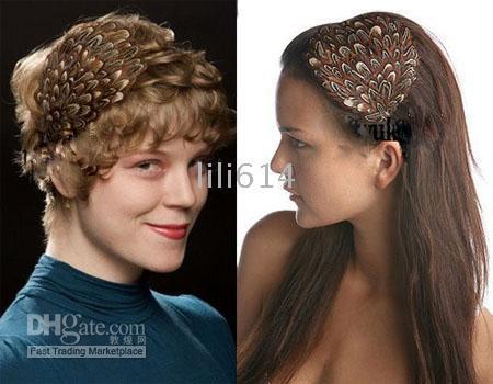 Wholesale 2011 Fashion Feather Headband feather hairband feather jewelry fashion jewelry Brand mix order