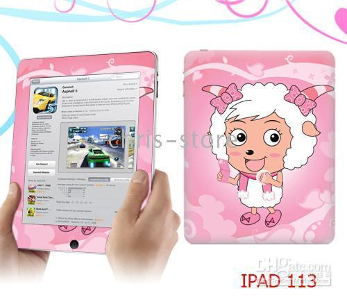 Wholesale iPad Skin Sticker Vinyl Skin Sticker for Ipad Tablet PC many designs200pcs