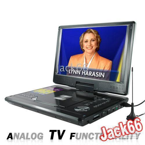 Wholesale Portable Multimedia DVD Players wide screen with Inch LCD