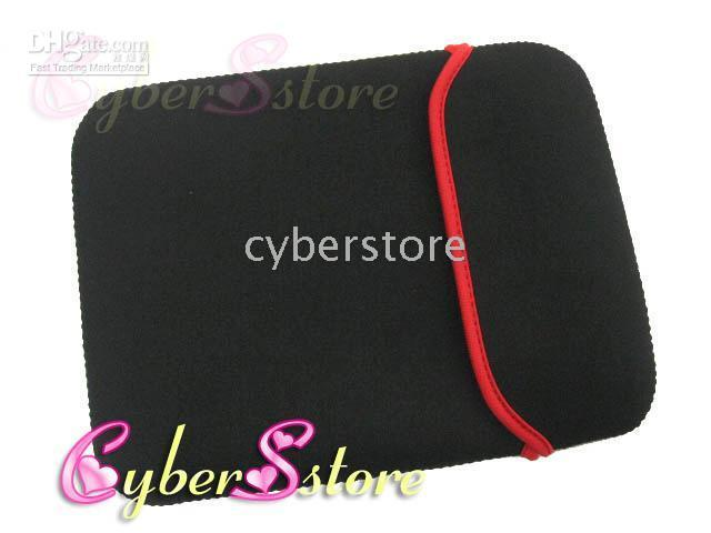 Wholesale For inch Soft Neoprene Sleeve Case Bag Cover Pouch Pocket For Ipad air mini Tablet Samsung Tab