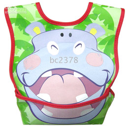 Elephant baby Bibs burps feeding for 0-4 years old baby & kids lovely pattern with yellow green blue