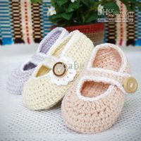 Crochet baby first walker Mary jane shoes 0- 12M 15pairs lot ...