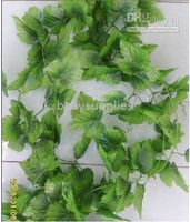 Wholesale Simulation flower vine vine vine string big fake flower vine leaves grape leaves m piece s03