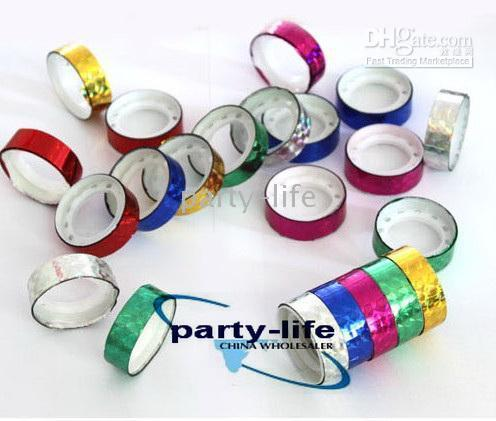 Wholesale Mini color laser tape for DIY Decoration