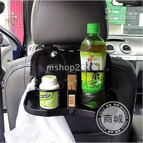 folding tray - 24PCS Car drink holder folding drink holder car back seat tray car cup holder water