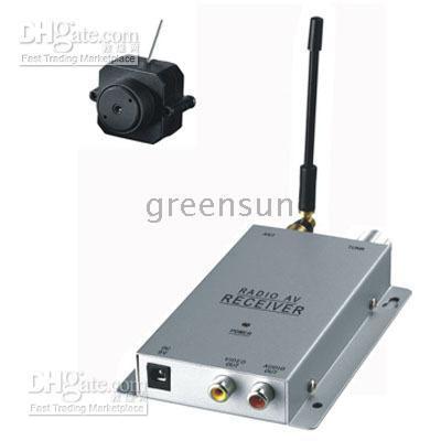 Wholesale Longrange Mini Pinhole Hidden Wireless Camera Set G